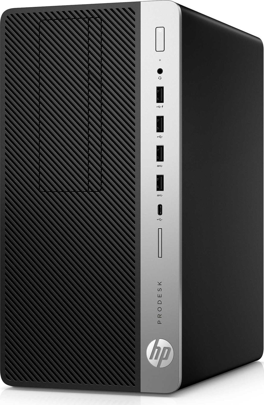 Системный блок HP ProDesk 400 G5 МТ, 4CZ34EA, черный системный блок