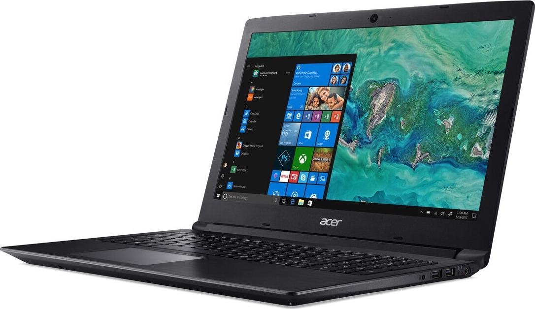 15.6 Ноутбук Acer Aspire A315-53 NX.H37ER.002, черный