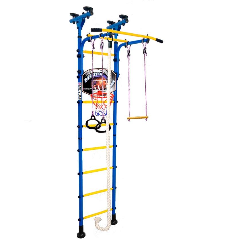Спортивный комплекс Midzumi Детский Hoshi Basketball Shield синий синий все цены