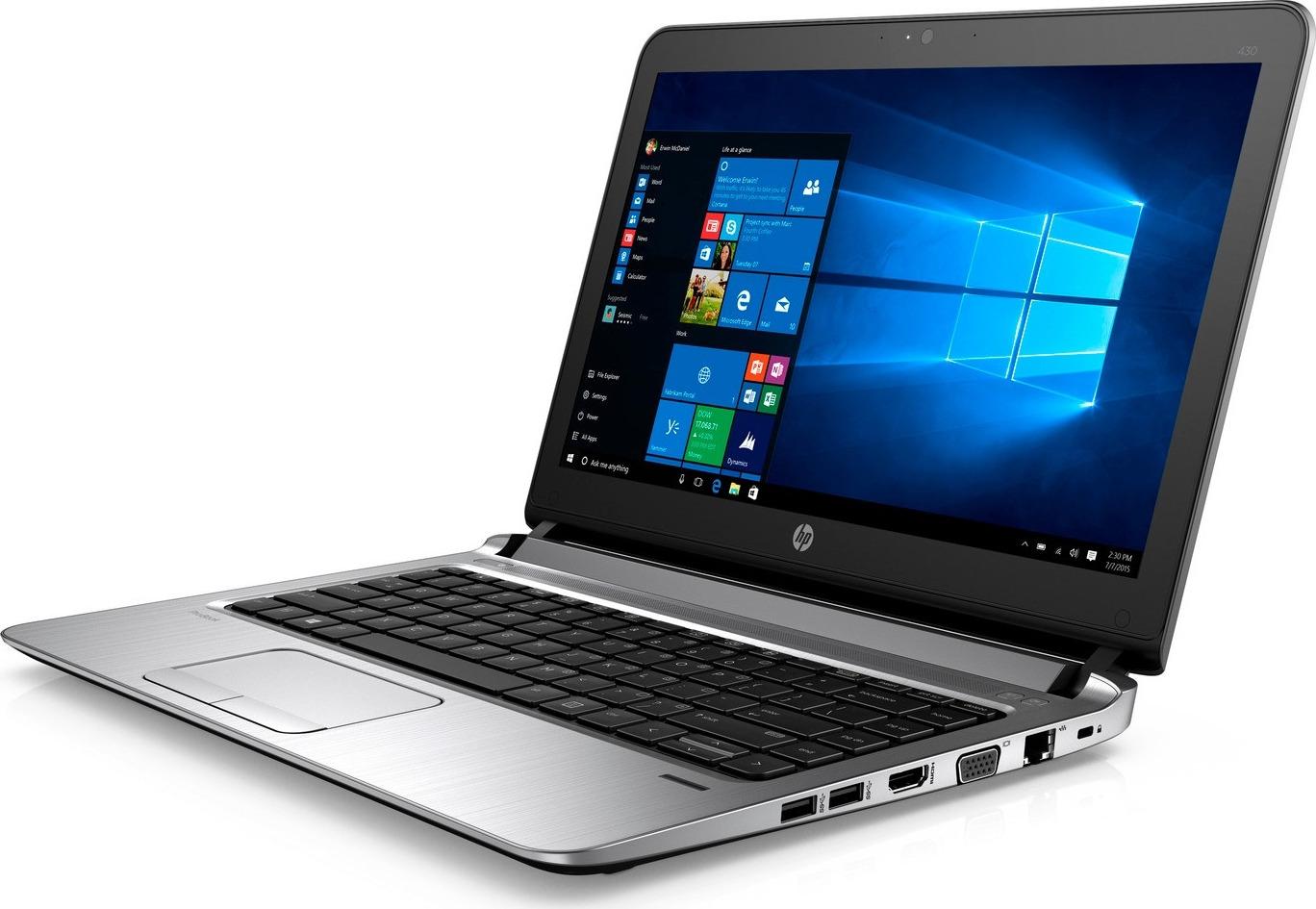 Ноутбук HP ProBook 430 G3 3QL32EA, черный