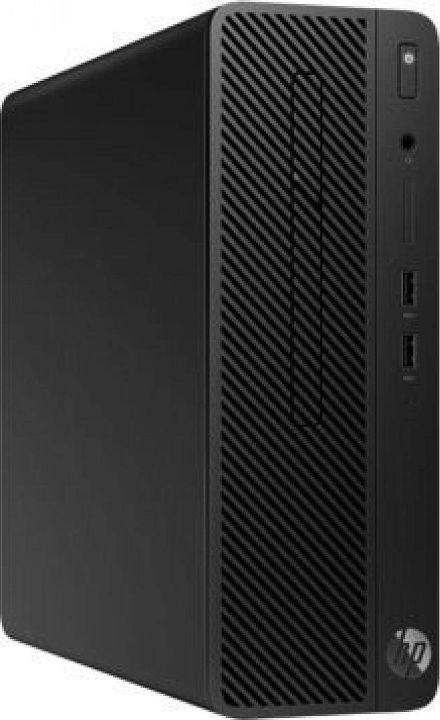 Системный блок HP 290 G1 SFF, 3ZD96EA, черный