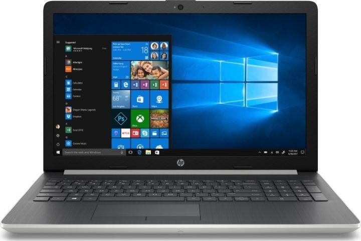 15.6 Ноутбук HP 15-da0112ur 4KA20EA, серебристый ноутбук цена качество