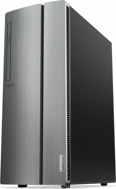 Системный блок Lenovo IdeaCentre 510-15ICB, 90HU006KRS, серебристый