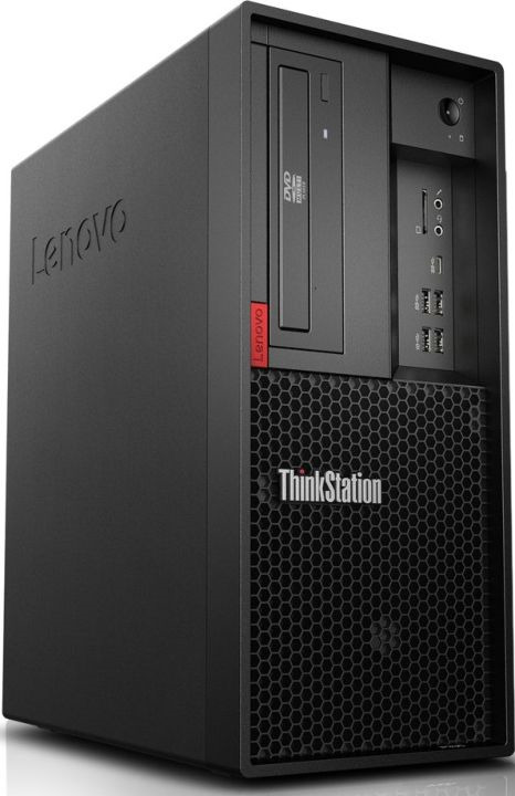 Системный блок Lenovo ThinkStation P330, 30C5003ERU, черный