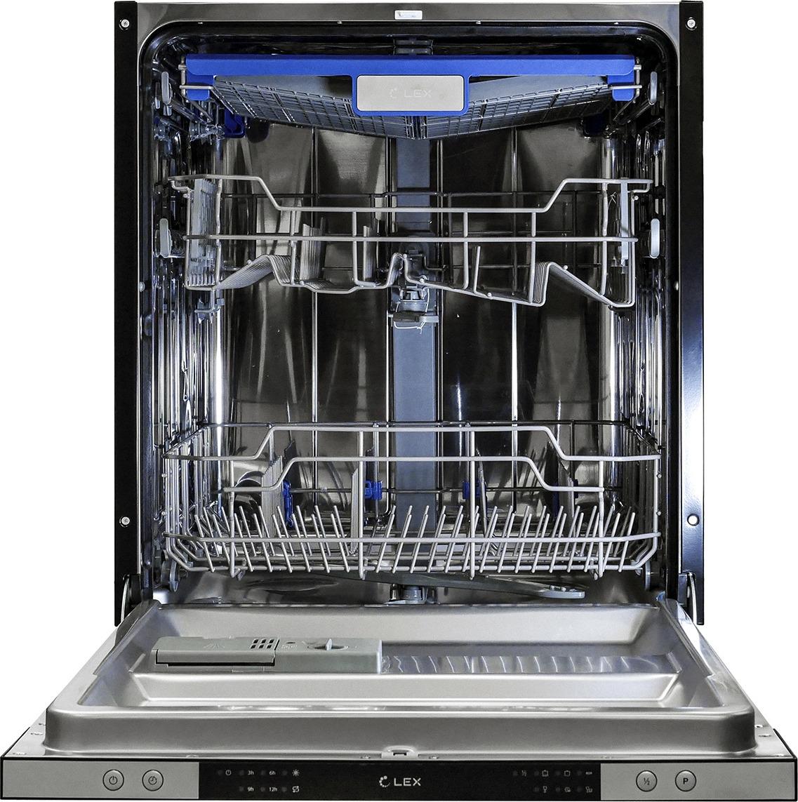 лучшая цена Встраиваемая посудомоечная машина Lex PM 6063 A, черный