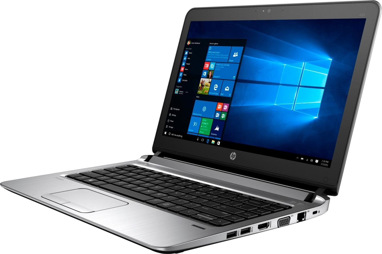 13.3 Ноутбук HP ProBook 430 G3 3QM03ES, черный ноутбук hp probook 655 g3 z2w21ea