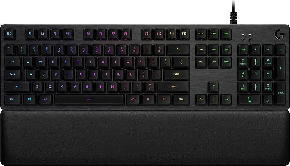 Клавиатура Logitech G513 GX Blue Clicky, черный