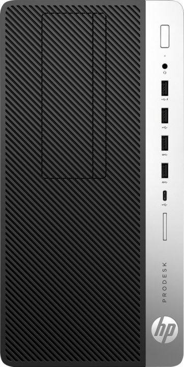 Системный блок HP ProDesk 400 G5 МТ, 4CZ31EA, черный системный блок