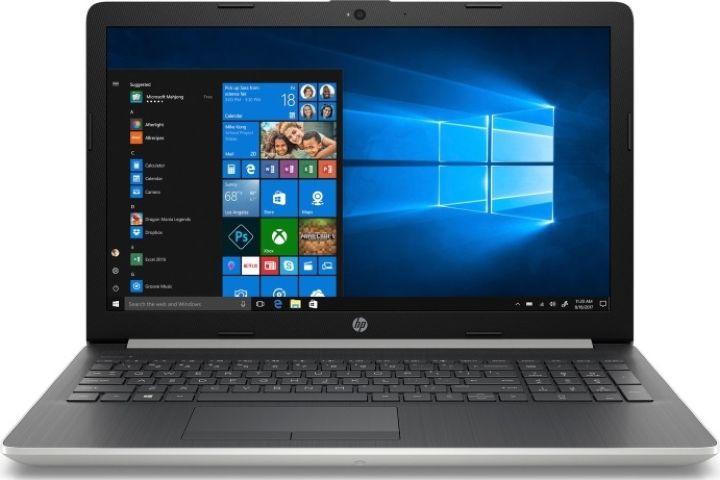 15.6 Ноутбук HP 4KA69EA, серебристый ноутбук цена качество