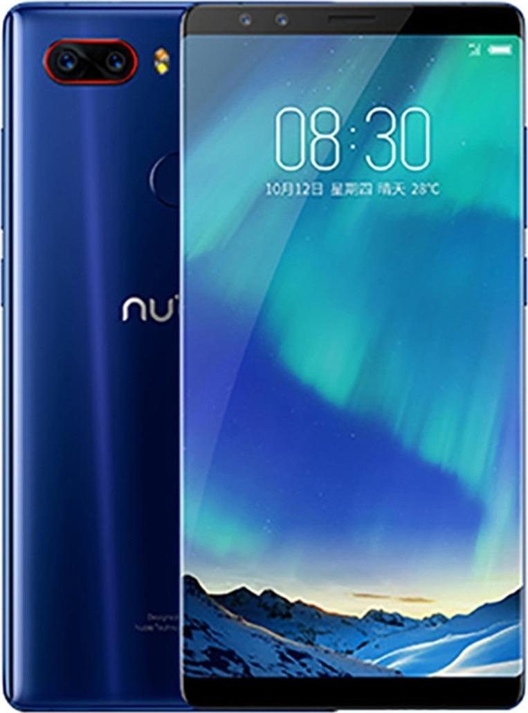 Смартфон Nubia Z17S 8/128GB, синий цена