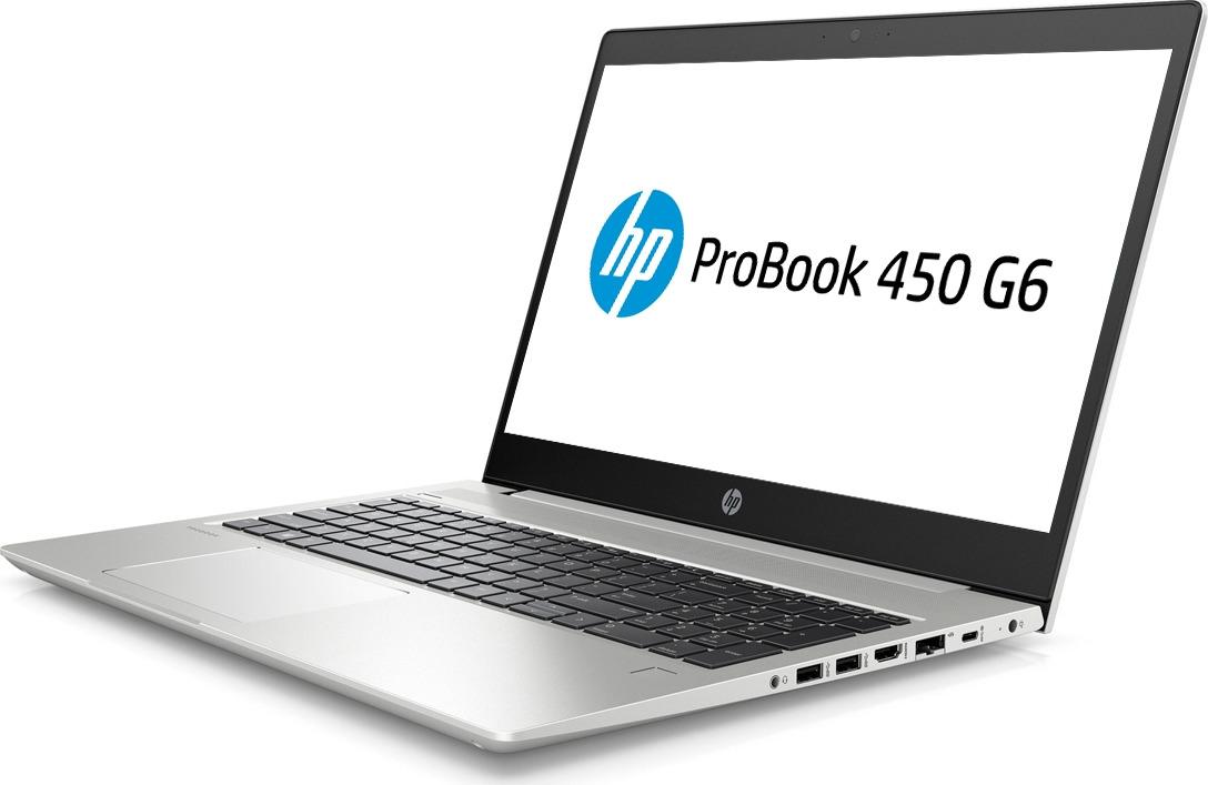 Ноутбук HP ProBook 450 G6 5PP97EA, серебристый ноутбук 8гб оперативной памяти