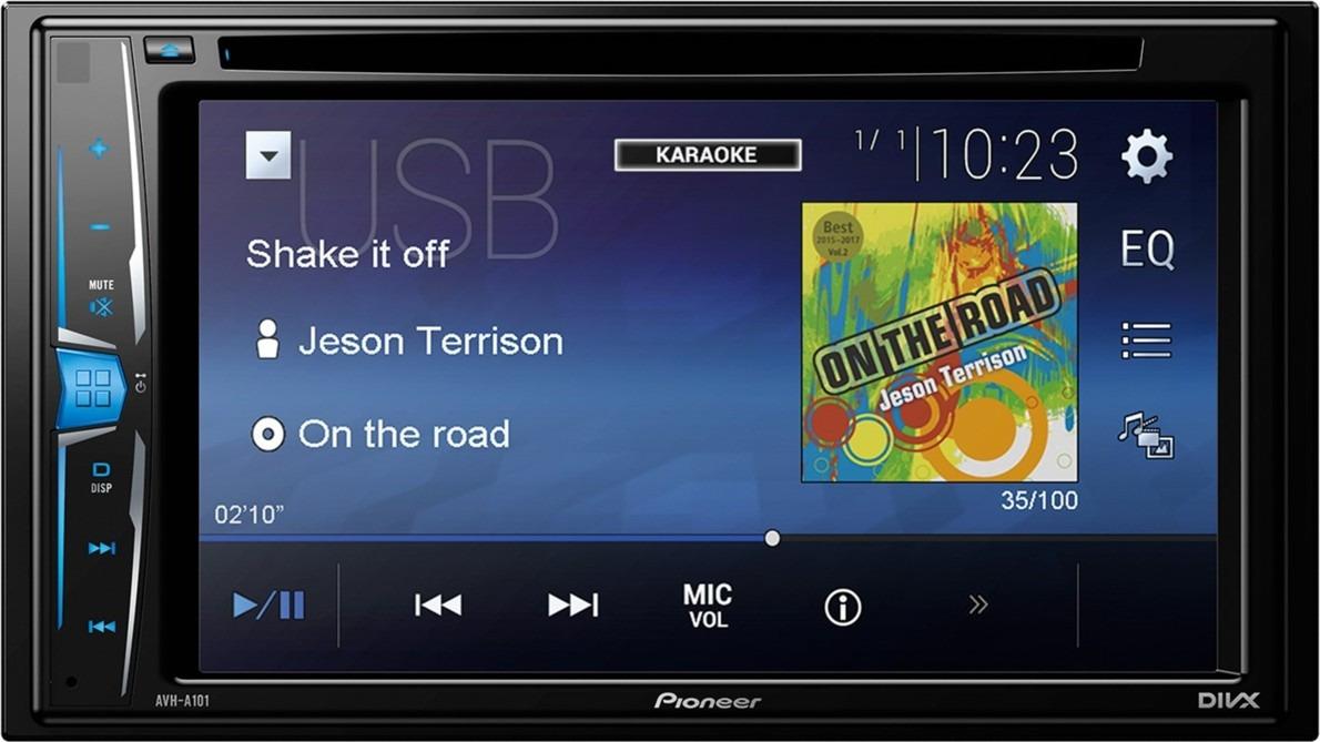 Автомагнитола CD DVD Pioneer AVH-A101 алексей громаковский как перенести видео и аудио с кассет на cd и dvd оцифровка своими руками