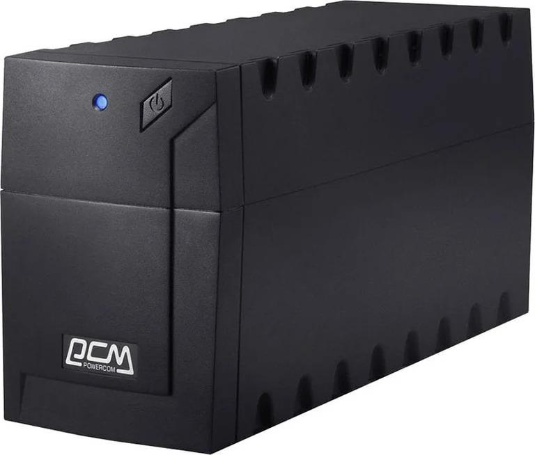 Источник бесперебойного питания Powercom Raptor RPT-600AP 360Вт 600ВА, черный источник бесперебойного питания с внешним аккумулятором для котла
