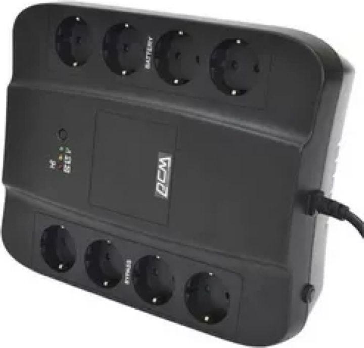 Источник бесперебойного питания Powercom Spider SPD-850E 510Вт 850ВА, черный источник бесперебойного питания powercom spider spd 850u