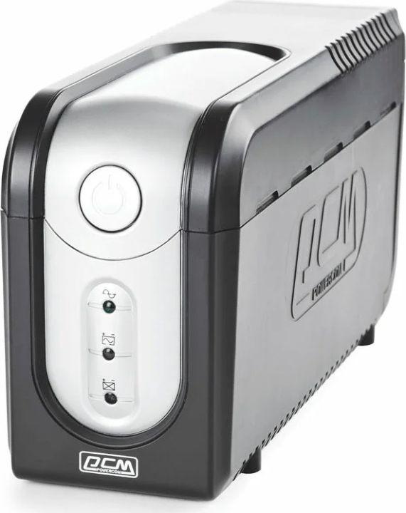 Источник бесперебойного питания Powercom Imperial IMP-825AP 495Вт 825ВА, черный цена