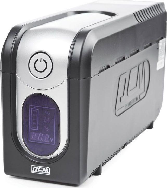 Источник бесперебойного питания Powercom Imperial IMD-825AP 495Вт 825ВА, черный цена