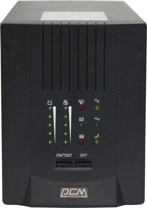 Источник бесперебойного питания Powercom Smart King Pro+ SPT-700 490Вт 700ВА, черный uninterruptible power supply powercom smart king pro spt 500 home improvement electrical equipment