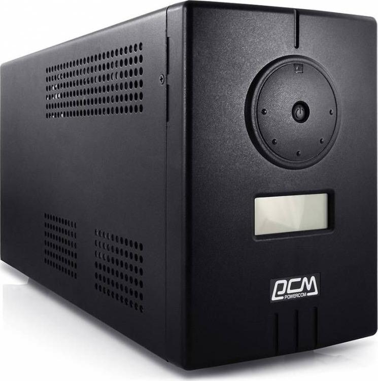 Источник бесперебойного питания Powercom Infinity INF-1100 770Вт 1100ВА, черный источник бесперебойного питания powercom mas 2000 black