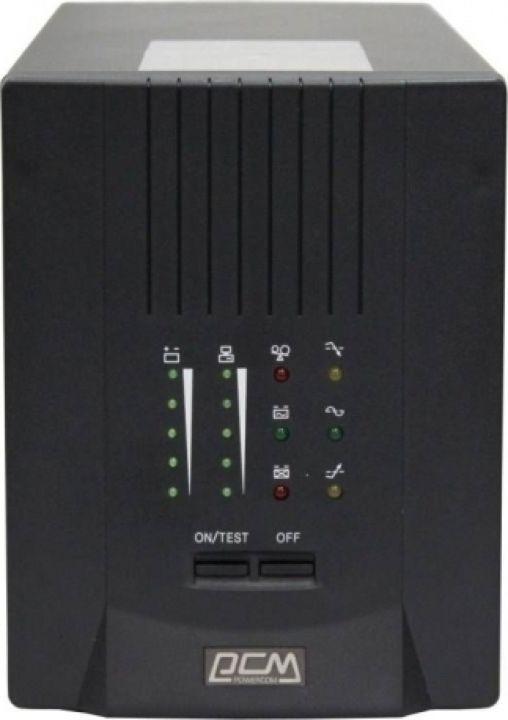 Источник бесперебойного питания Powercom Smart King Pro+ SPT-1000 700Вт 1000ВА, черный недорго, оригинальная цена