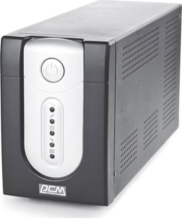 Источник бесперебойного питания Powercom Imperial IMP-2000AP 1200Вт 2000ВА, черный цена