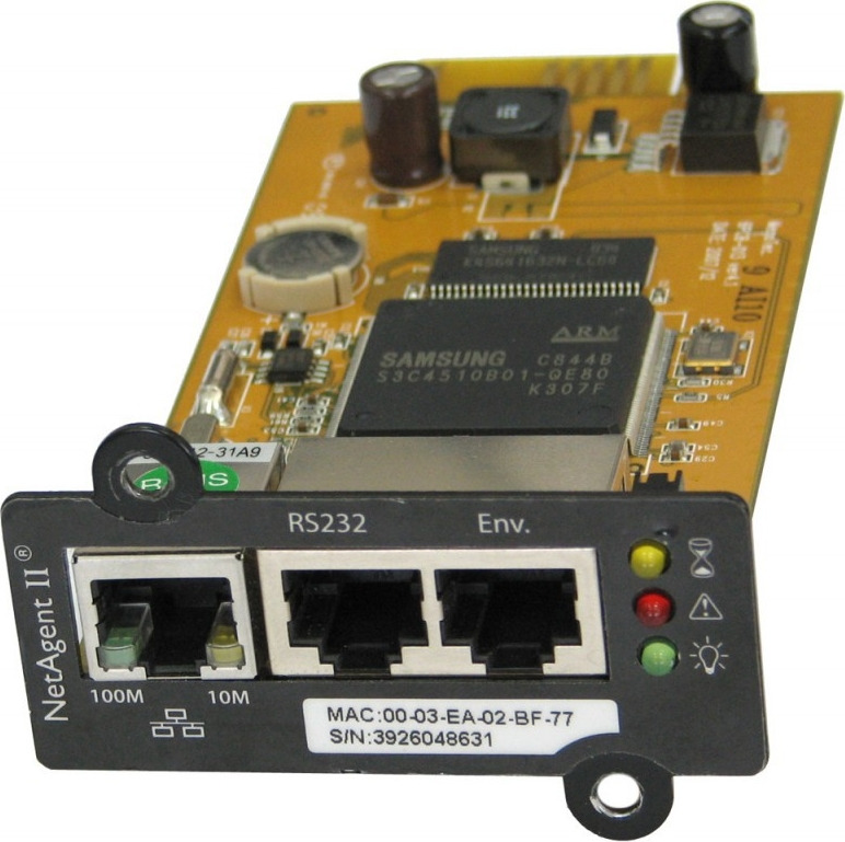 цена на Блок управления Powercom BP506-06-LF for UPS NetAgent II(BT506) internal 3ports