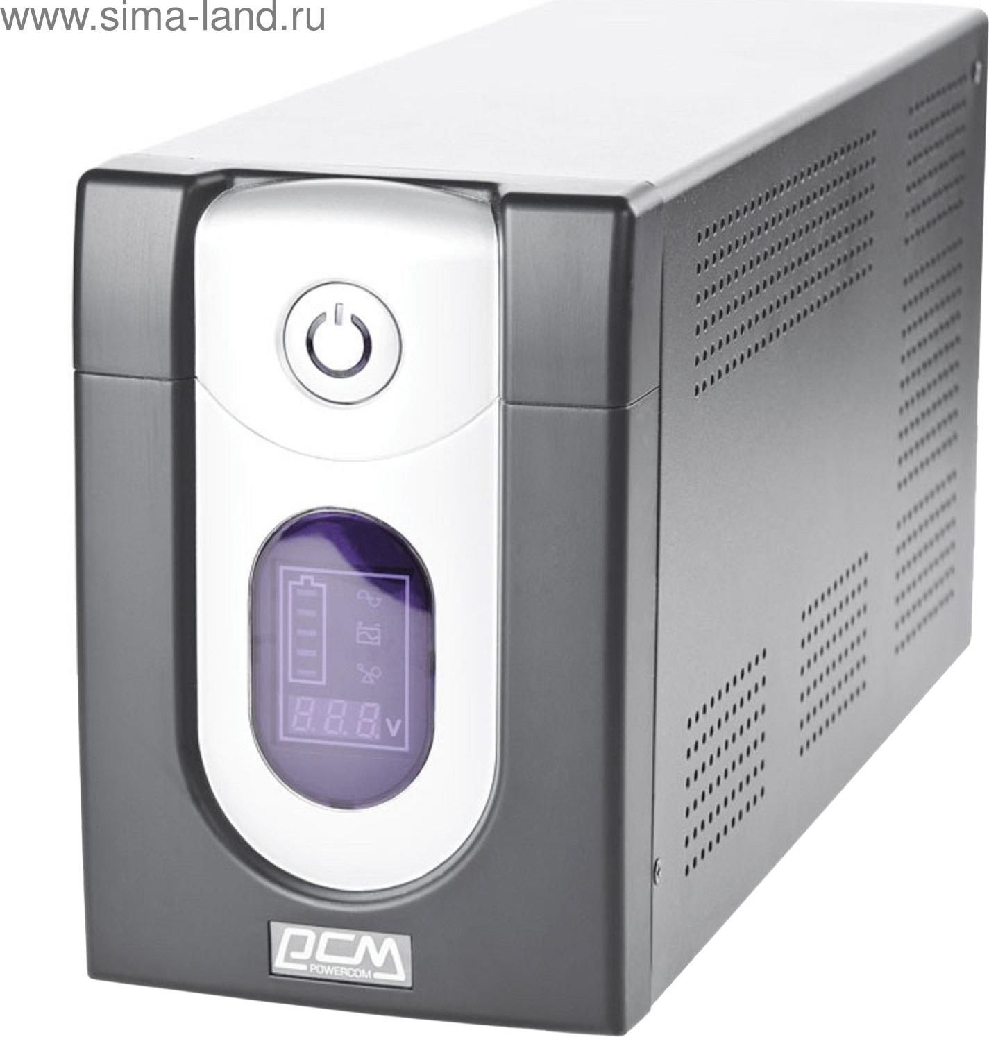 Источник бесперебойного питания Powercom Imperial IMD-2000AP 1200Вт 2000ВА, черный источник бесперебойного питания с внешним аккумулятором для котла