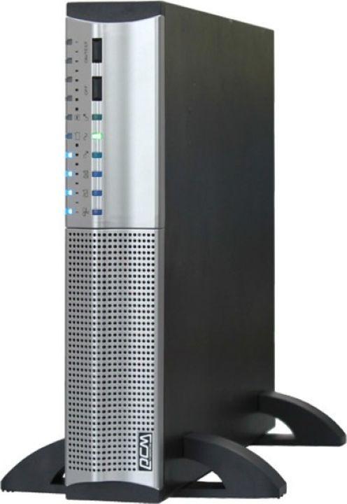 Источник бесперебойного питания Powercom Smart King RT SRT-1500A 1350Вт 1500ВА, черный источник бесперебойного питания powercom mas 2000 black