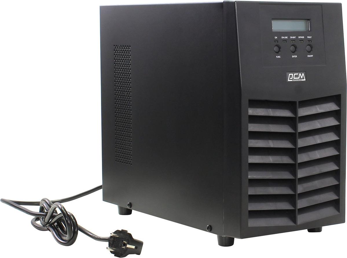 Источник бесперебойного питания Powercom Macan MAS-2000 1800Вт 2000ВА, черный powercom imp 1025ap 671477 источник бесперебойного питания black silver