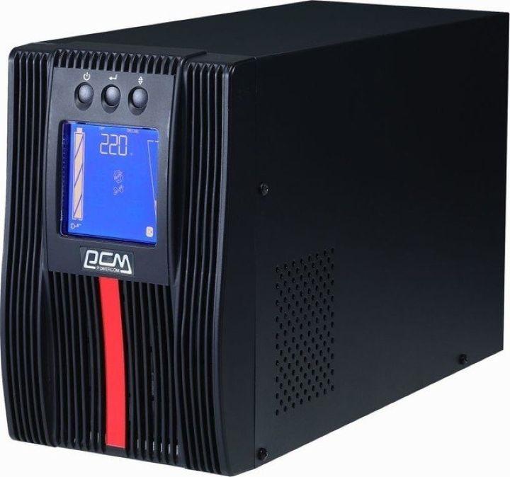 все цены на Источник бесперебойного питания Powercom Macan MAC-3000 3000Вт 3000ВА, черный онлайн