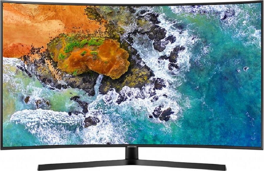 Телевизор Samsung UE65NU7500UX 65, серебристый телевизор 55 диагональ