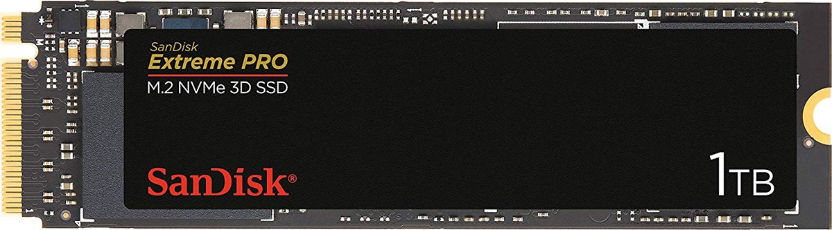 SSD диск SanDisk Extreme Pro M.2 NVME 3D, 1 ТБ
