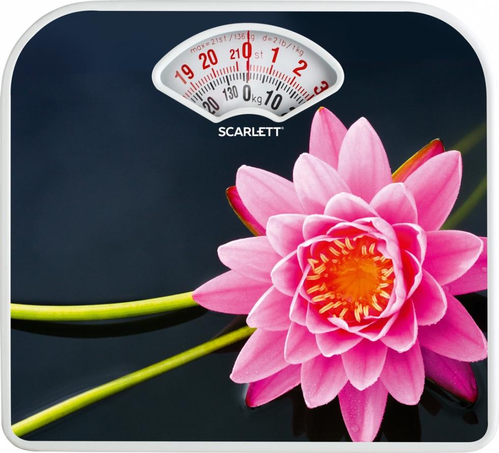 Весы напольные механические Scarlett SC-BS33M043 весы scarlett sc bs33e064