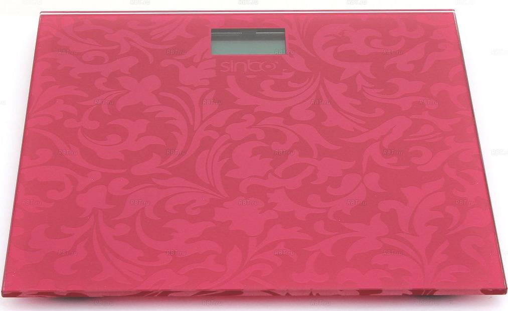 Весы напольные электронные Sinbo SBS 4430, пурпурный цена