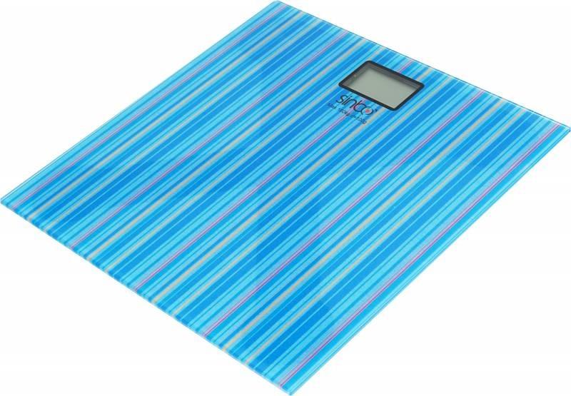 Весы напольные электронные Sinbo SBS 4429, бирюзовый напольные весы sinbo sbs 4429 до 180кг цвет розовый