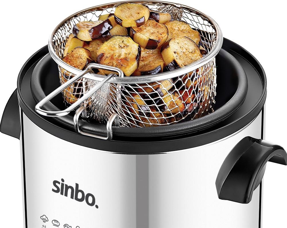 Фритюрница Sinbo SDF 3832, белый Sinbo