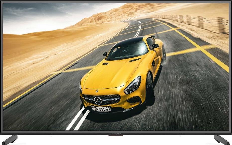 Телевизор Starwind SW-LED50U303BS2 50, черный телевизор 50 дюймов цена