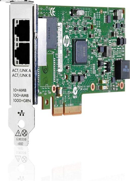лучшая цена Адаптер HPE Ethernet 1Gb 2P 361T (652497-B21)