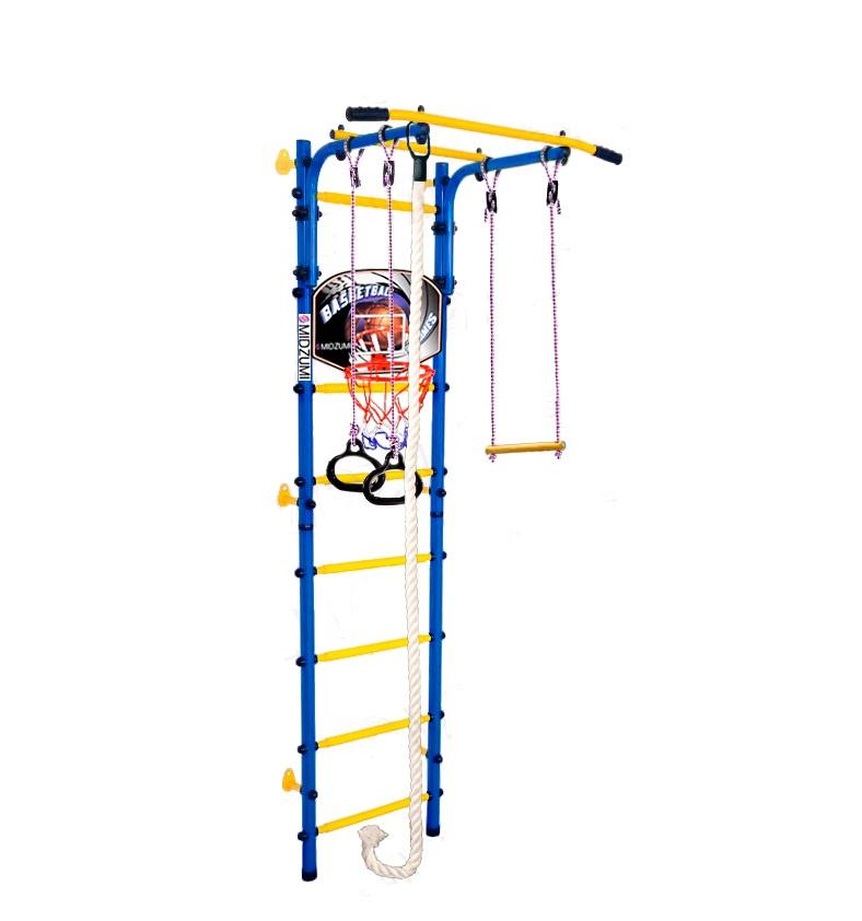 Спортивный комплекс Midzumi Детский Hoshi Kabe Basketball Shield синий синий все цены