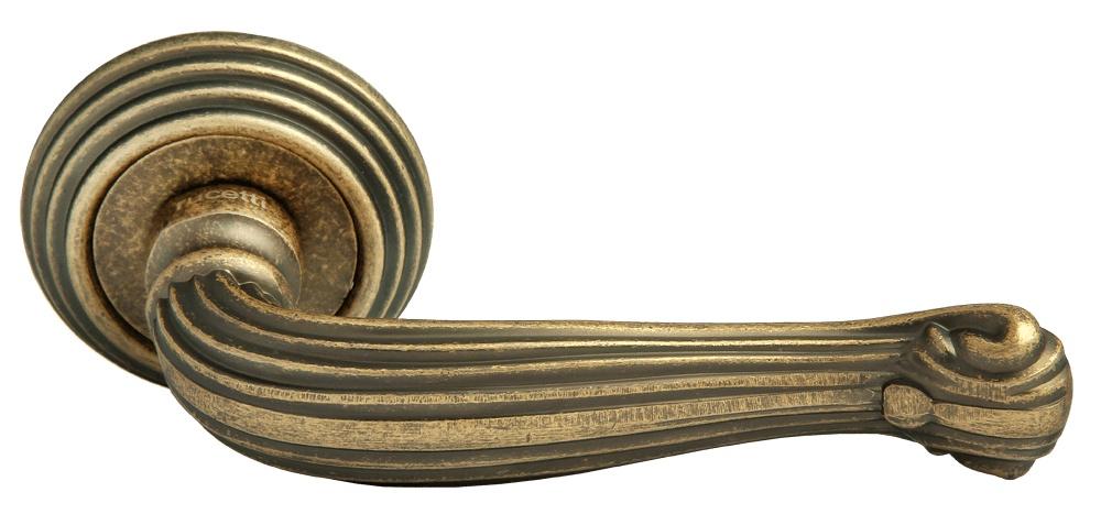 Ручка дверная Rucetti RAP-CLASSIC-L 4 OMB, бронза ручка дверная unbranded 32 1 26 mbs220 4 mbs220 4