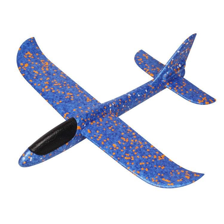 Самолет Migliore Метательный планер синийZ05913Свободнолетающий метательный самолетик сделан из легкого и прочного полипропилена. Этот материал не портится и не гнется, в нем не появляется трещин. Модель легко собирается без использования специальных инструментов.Самолет был разработан в соответствии с законами аэродинамики: благодаря своему хвостовому оперению он ловит воздушный поток и пролетает достаточно большое расстояние.Преимущества модели:Качественный материал пеноматериал полипропилен, безопасный для здоровья.Конструкция соответствует законам аэродинамики.Дальность полета составляет 20-30 метров.Стильный дизайн, обтекаемые формы, приятная расцветка.Легкая сборка без использования вспомогательных средств.Компактность и неприхотливость в хранении и транспортировке.Размеры: 36 x 36 x 12 см.