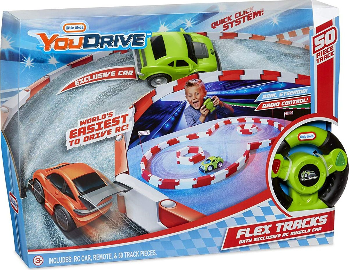 Игровой набор Little Tikes Гоночная полоса и спорткар, 649301, зеленый игровой набор little tikes домик желтый