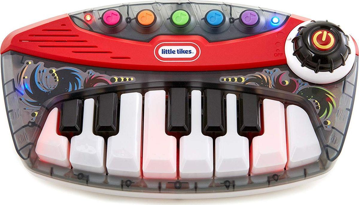 музыкальные игрушки potex синтезатор smart piano 32 клавиши 939в Музыкальная игрушка Little Tikes Синтезатор Веселые мелодии, 636219M