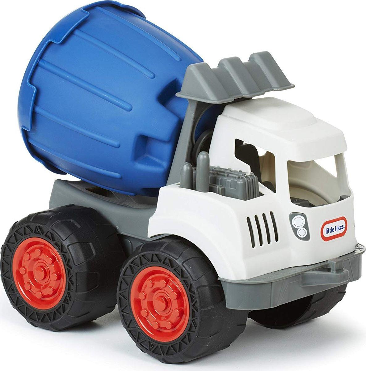 Машинка Little Tikes Землекоп Цементомешалка 2 в 1, 643361E4C little tikes little tikes раннего детства специальное образование детские игрушки сумасшедший отскок колеса грузовики 641 480 американский бренд