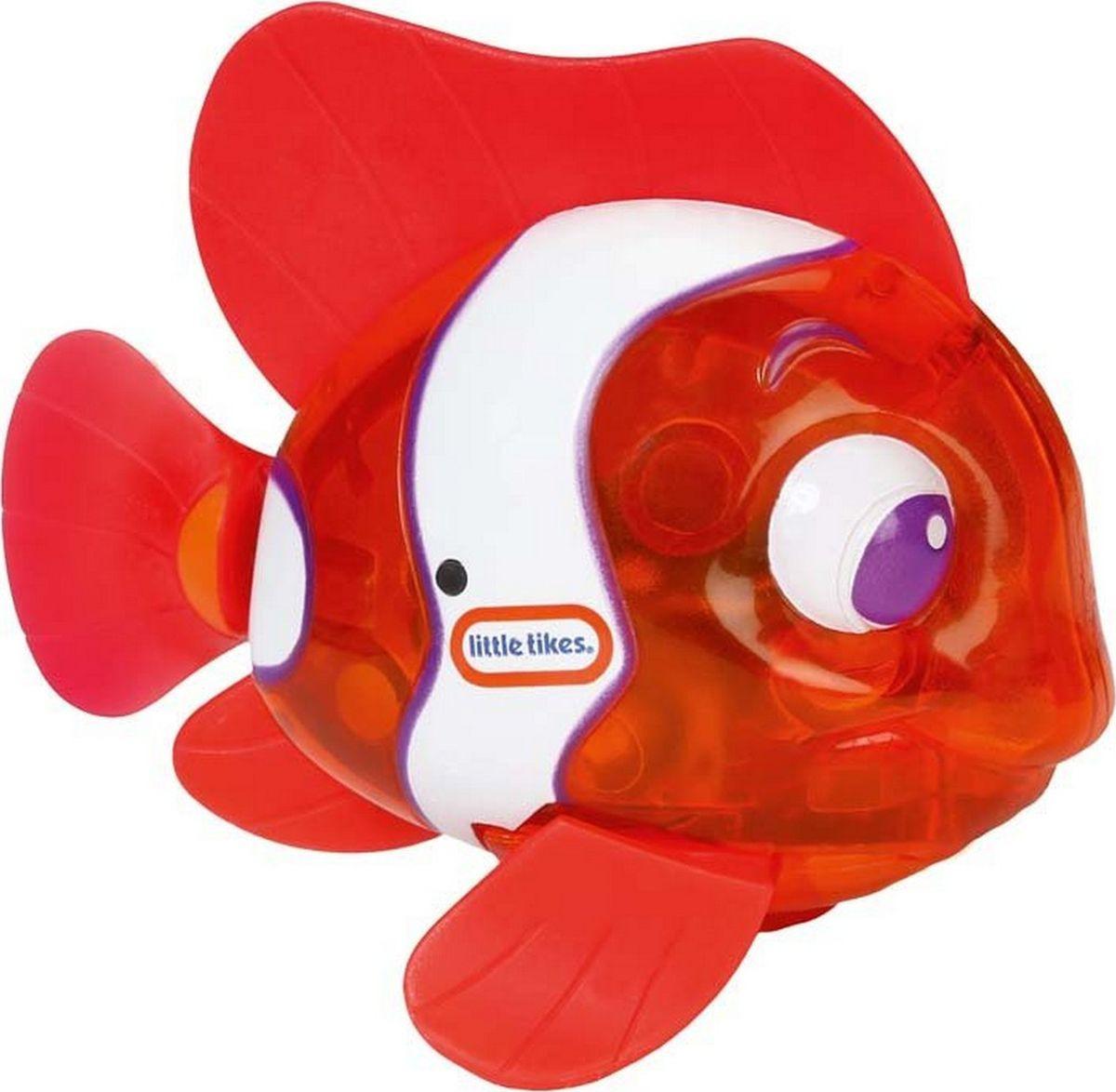 Интерактивная игрушка Little Tikes Блестящая бухта Рыбка Огонек Рыба-клоун, 638220M pannorama панно рыбка клоун