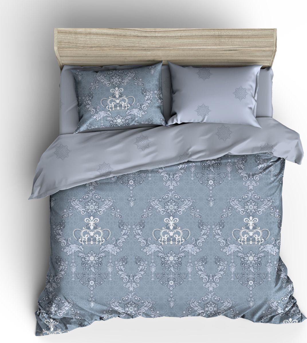 Комплект постельного белья Guten Morgen, Пг-927-175-220-70, 2-х спальный, наволочки наволочки 70x70 комплект постельного белья guten morgen перкаль пг 797 175 220 70 голубой 2 х спальный наволочки 70x70