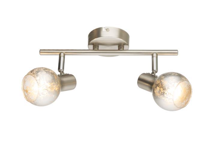 лучшая цена Настенно-потолочный светильник Globo New 54840-2