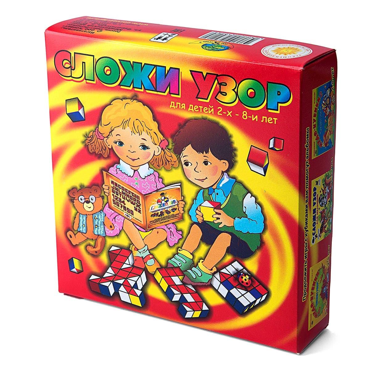 Обучающая игра Корвет Игра Сложи узор корвет обучающая игра удивляйка 4 теремок