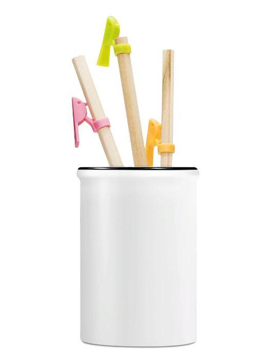 Набор письменных принадлежностей й IQ Format Набор карандашей с держателями набор письменных принадлежностей depesche topmodel макияж candy 045675 005675