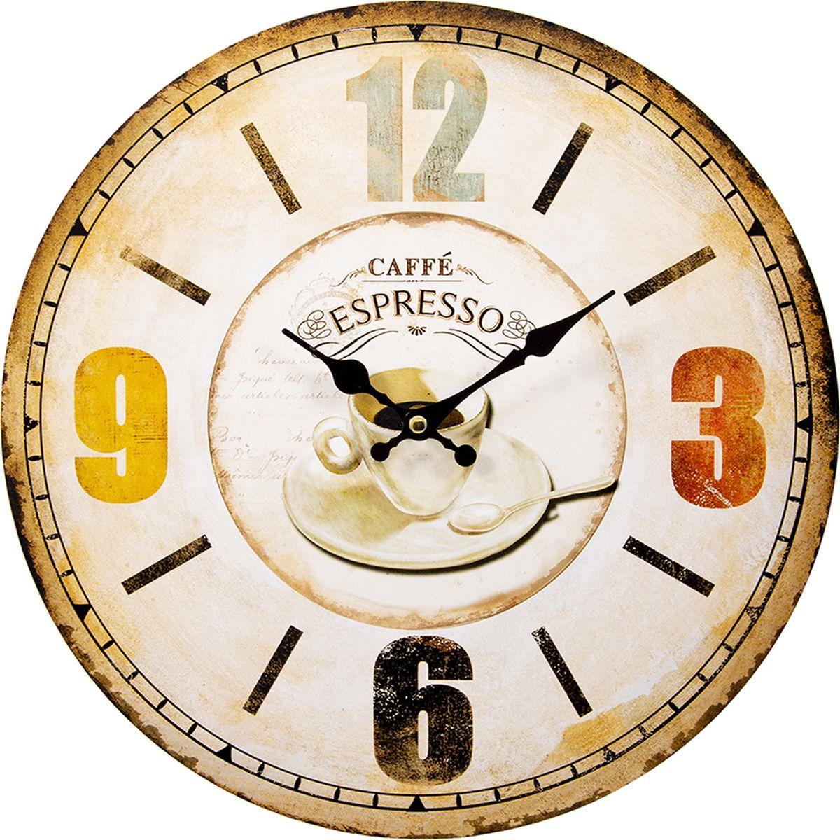 крючки настенные русские подарки крючки настенные помощник повара Настенные часы Русские подарки, 138639, мультиколор, 34 х 34 см