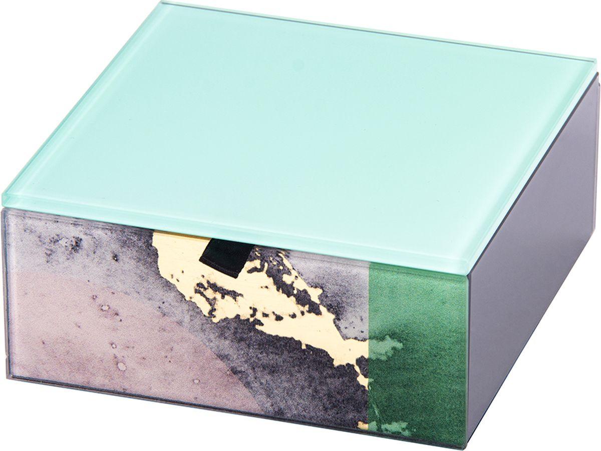 Шкатулка для хранения Русские подарки, 79229, мультиколор, 12 х 12 х 5 см